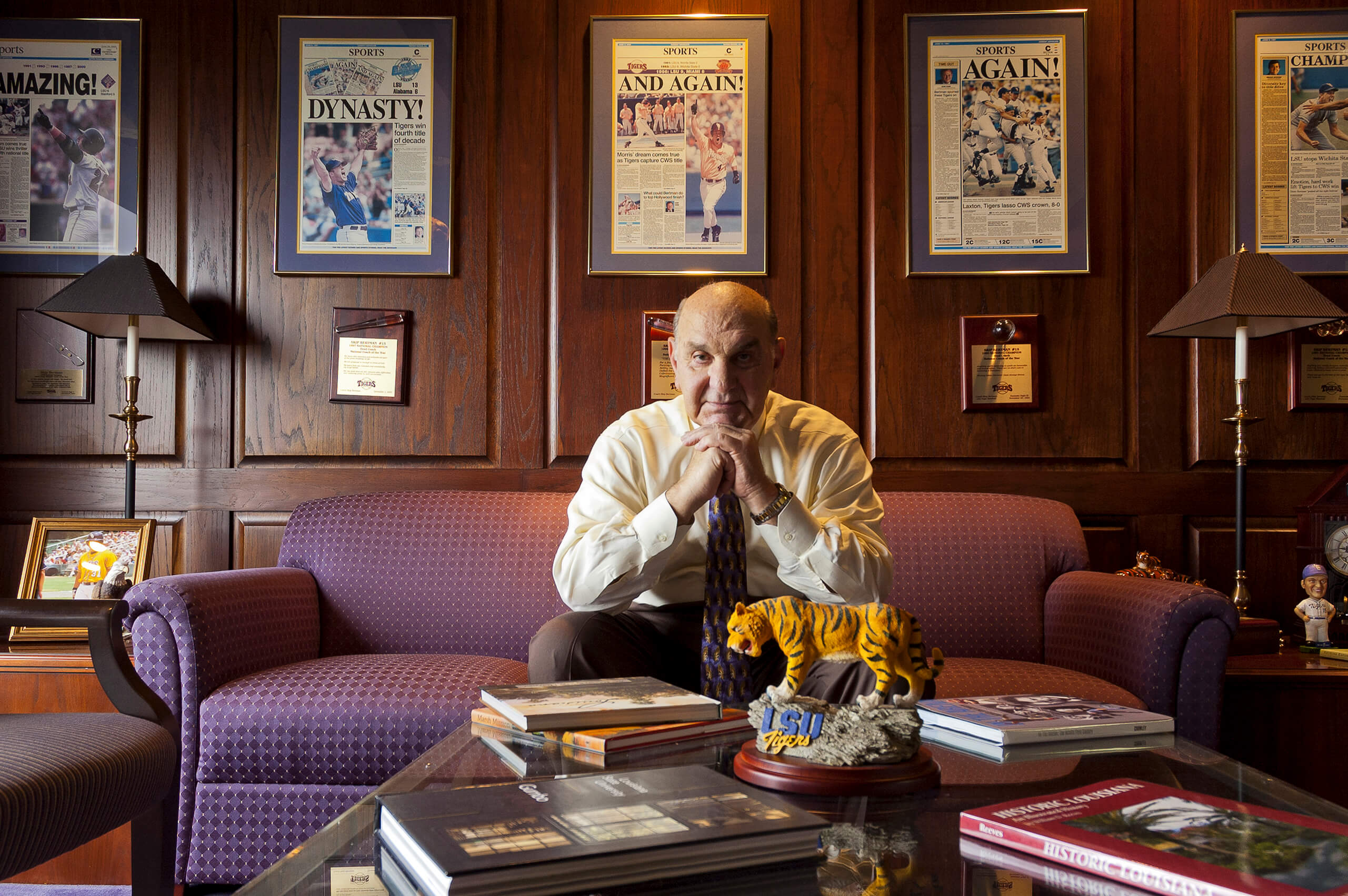 LSU Athletic Director Skip Bertman