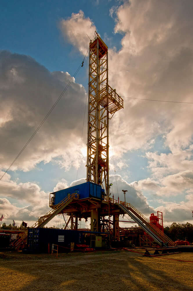 Louisiana Land Rig